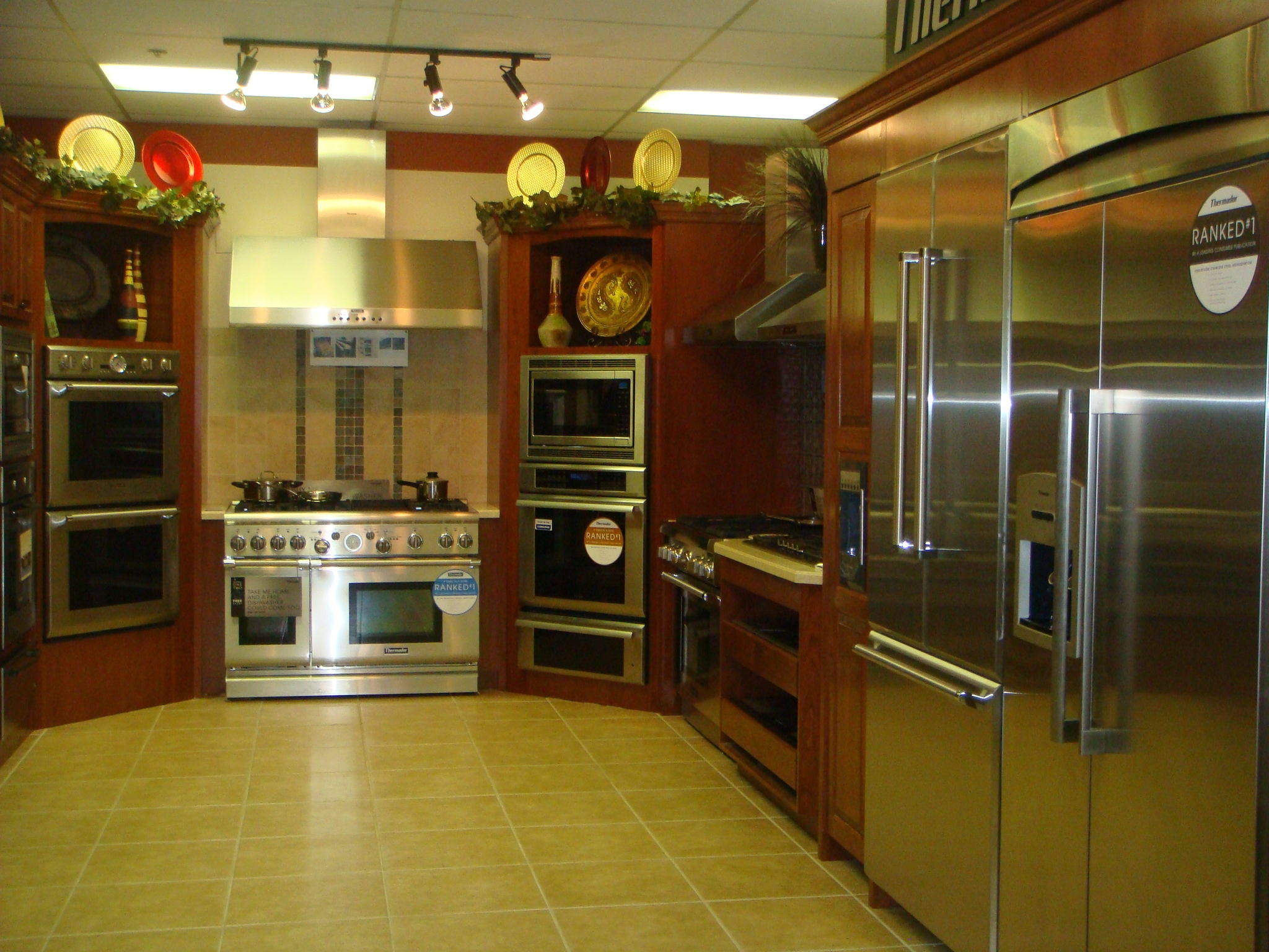 Queen City Tv & Appliances Showroom