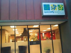 Specialty Appliance, Inc. Showroom